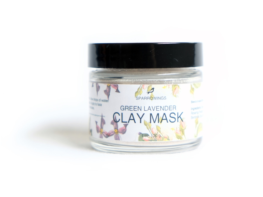 Green Lavender Clay Mask